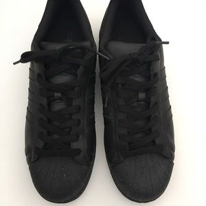 Adidas Shell toe Superstar Sneakers Shoes Black